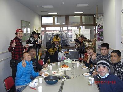 みんなでワイワイ楽しかったクリスマス会でした(*^^*)