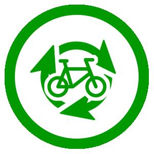 福祉につながる自転車リサイクル活動のイメージ